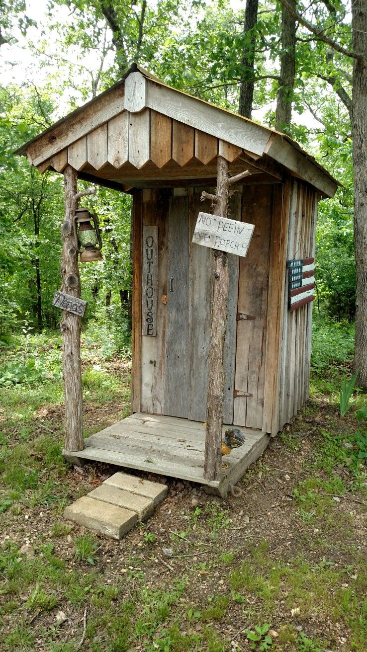 Outhouse In The Spring Outhouse Bathroom Outdoor Toilet Outhouse