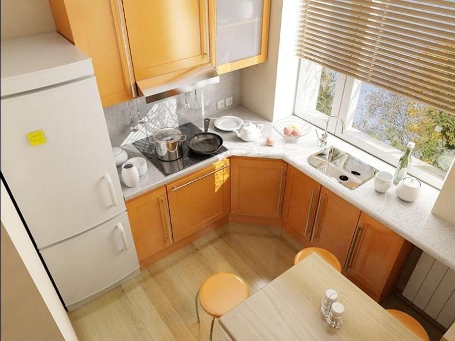 Дизайн кухни оформление 37