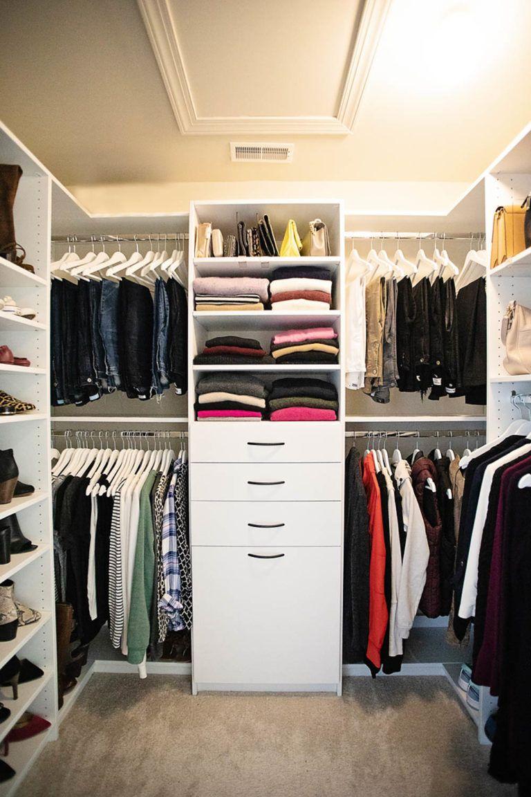 A Peek Into My Closet In 2020 Closet Design Plans Closet Planning Closet Designs