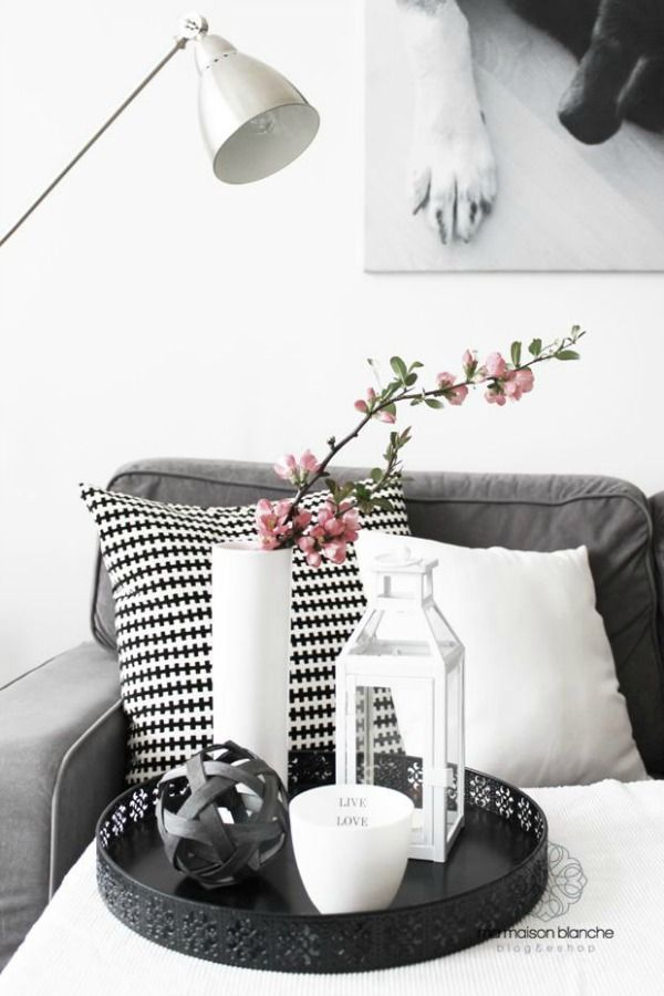 Salontafel decoratie  scandinavian interiors  Pinterest