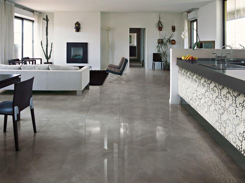 Tegels Vloer Keuken : Grijze hoogglans vloertegels ideeën voor het huis pinterest