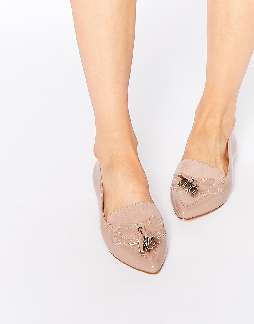Nude flat shoes — 5