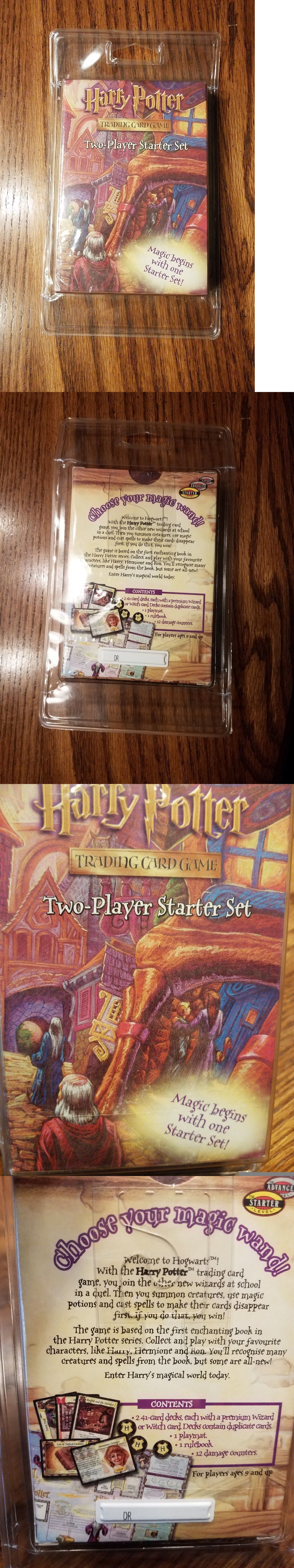 Harry potter trading card game two player starter pack set new