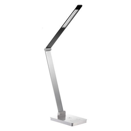 Royal Sovereign Dual Pivot Led Desk Lamp With Usb And Wireless Charger Led Desk Lamp Desk Lamp Led