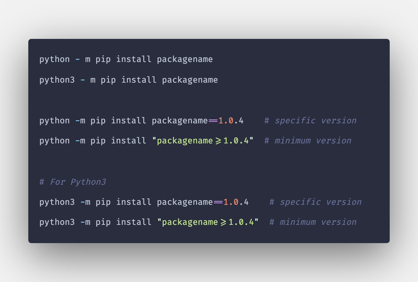How To Install Python Module Install Package Using Pip In 2020 Programming Tutorial Installation Language Guide