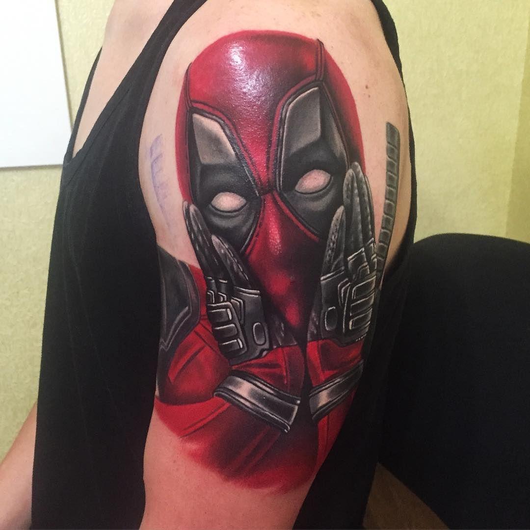 Pin By Olivia Castro On Tattoos Deadpool Tattoo Mythology