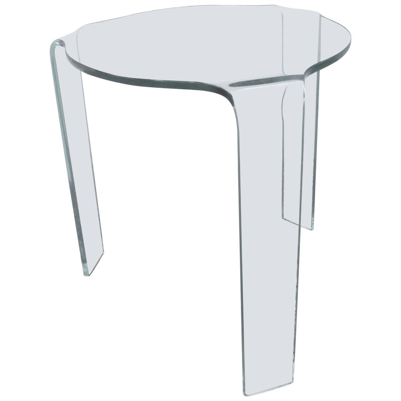 Fiam Molded Glass Table 1stdibs Com Glass Table Table Glass