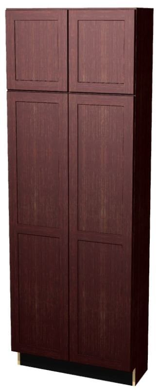 Essentials Prt Mp S St All C U3084b Tall Pantry Cabinet Shaker Doors Staining Cabinets