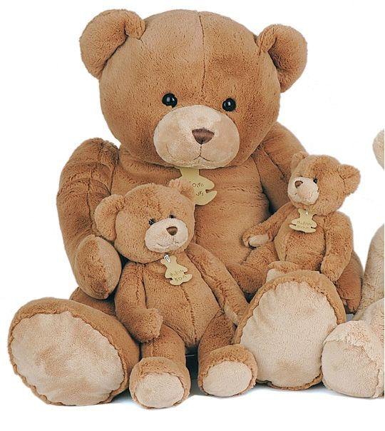 peluche calin 39 ours g ant marron 80 cm en peluche teddy nounours doudou beren bears. Black Bedroom Furniture Sets. Home Design Ideas