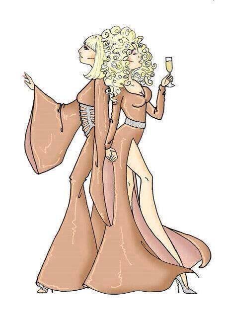Lady gaga and Christina Aguilera fan art
