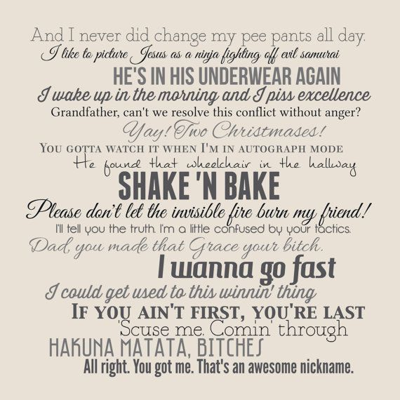 Talladega Nights: The Ballad Of Ricky Bobby Movie Quote