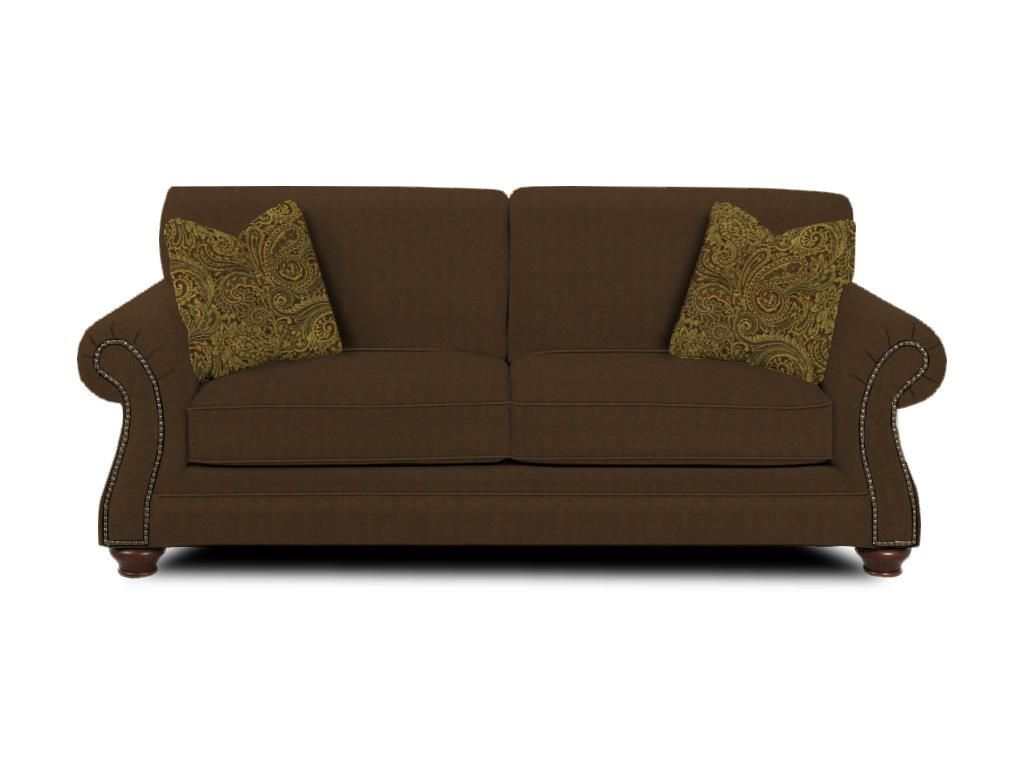 Simple Elegance Upholstery Living Room Stuart Sofa K39610 S Smith Village Home Furnishings Jacobus York Pa