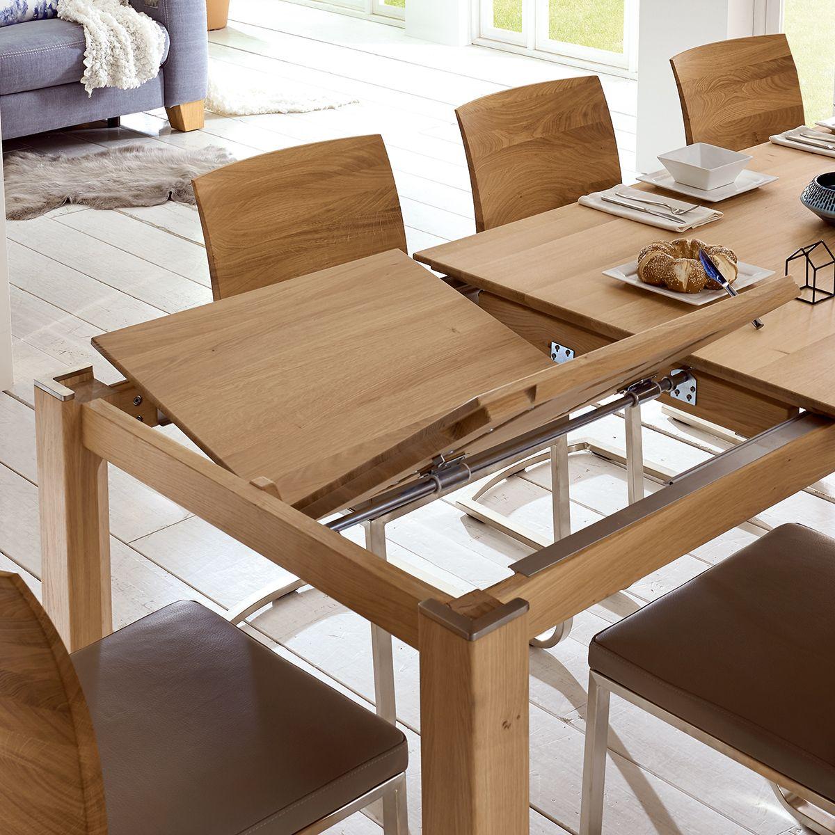 Idealer Begleiter - ein Tisch mit Ausziehfunktion  Holztisch