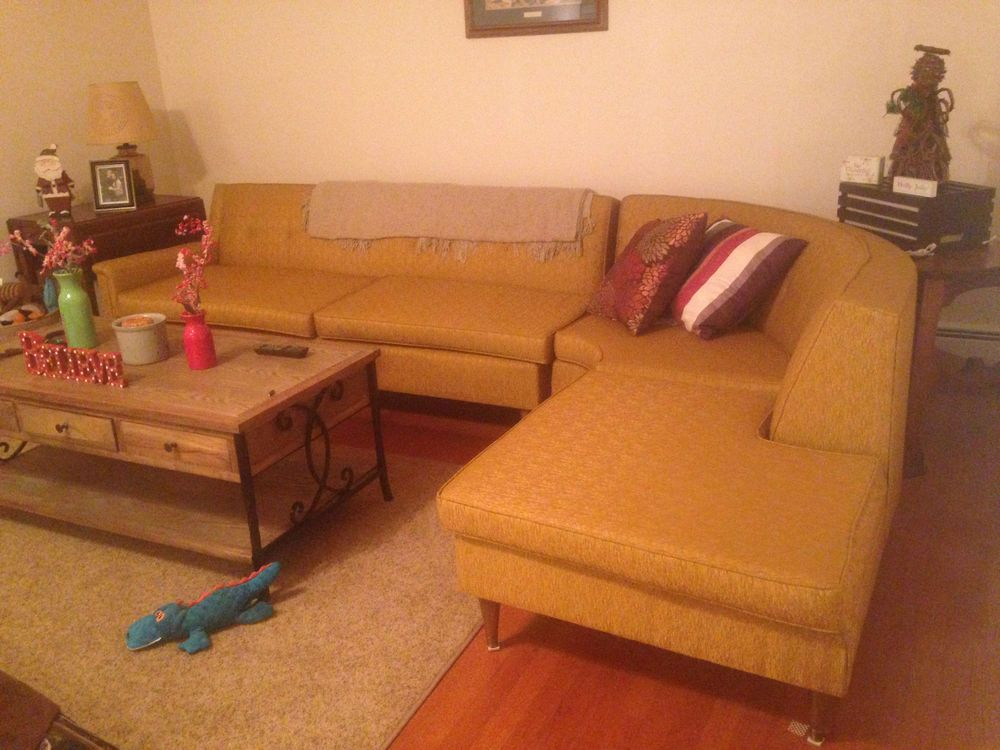 1970 S Vintage Sectional Couch Ebay Home Decor Home Decor Bedroom Oak Dining Room Table
