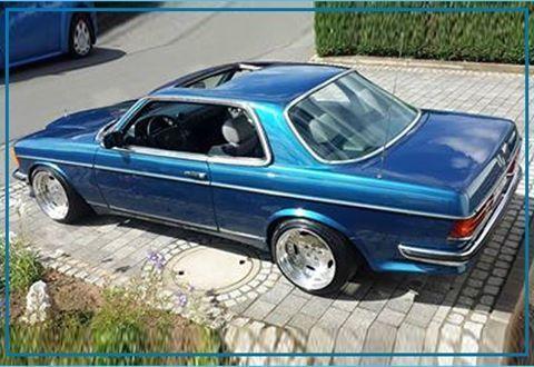 Mercedes Benz W123 V8 Umbau Coupe Euer Arnd Vom Team Der