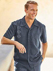 4f40fb4fe9 Men s Vintage Style Shirts Irvine Park M lange Shirt  34.99 AT  vintagedancer.com