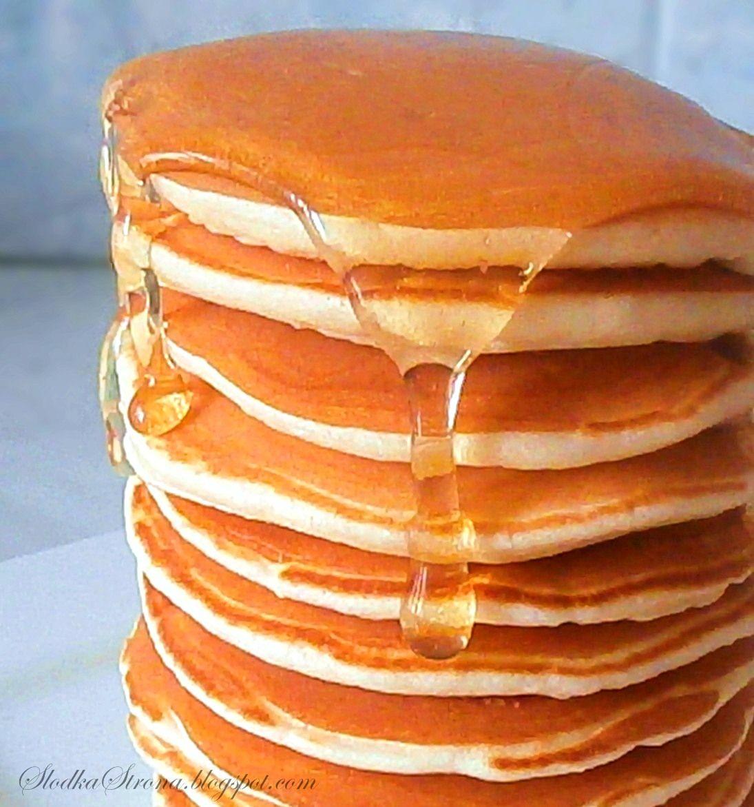 Slodka Strona Oryginalne Amerykanskie Pancakes Y Culinary Recipes Yummy Pancake Recipe Food Garnishes