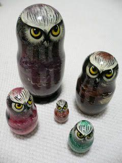 Owl Matryoshka