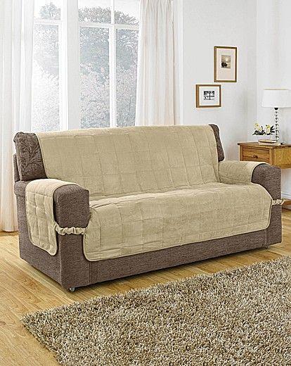 Faux Suede Furniture Protector Costureras Patrones Y