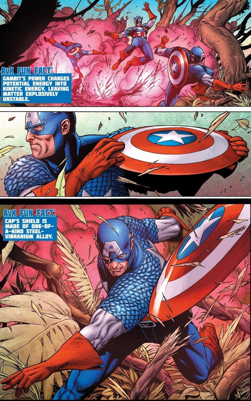 Gambit Vs Captain America Avx Vs 2 Marvel Captain America Marvel Comics Superheroes Captain America Comic