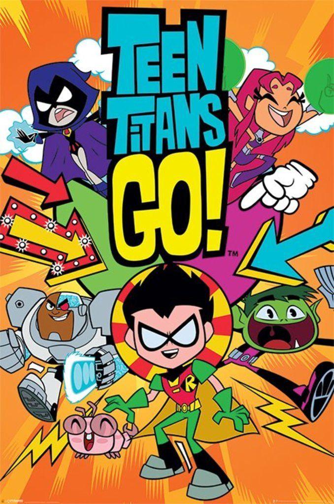 Teen Titans Go! - Titans Go! - Official Poster. Official Merchandise. Size: 61cm…