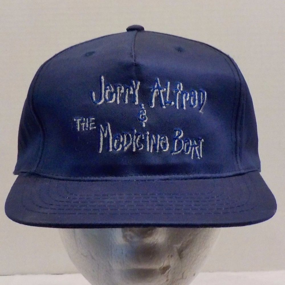 Jerry Alfred and the Medicine Boat Vintage Baseball Truckers Hat Cap Snapback #AJM #BaseballCap