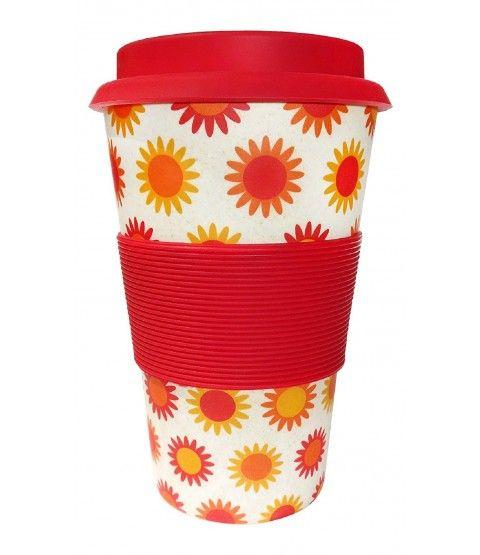 Ecoffee Cup Bambus Coffee To Go Becher Happy 600110 Geschenkidee