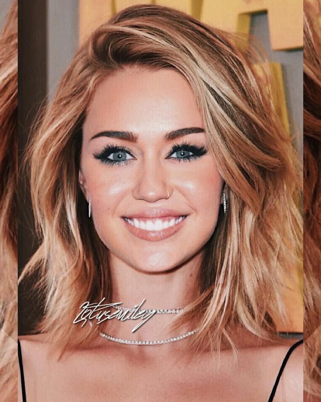 Miley Cyrus Longbobhaircutswithbangs Mom Hairstyles Medium Hair Styles Miley Cyrus Hair