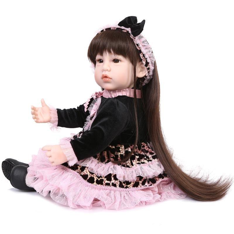 Unique Design 52cm 20''  Reborn Toddler Dolls Reborn Baby Doll Best Price Bebes Reborn Menina For Kids At Christmas Days As Toy