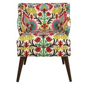 Armless Chair In Santa Maria Desert Flower Skyline 5705sntmrdsrflw Comfortable Accent Chairs Furniture Skyline Furniture