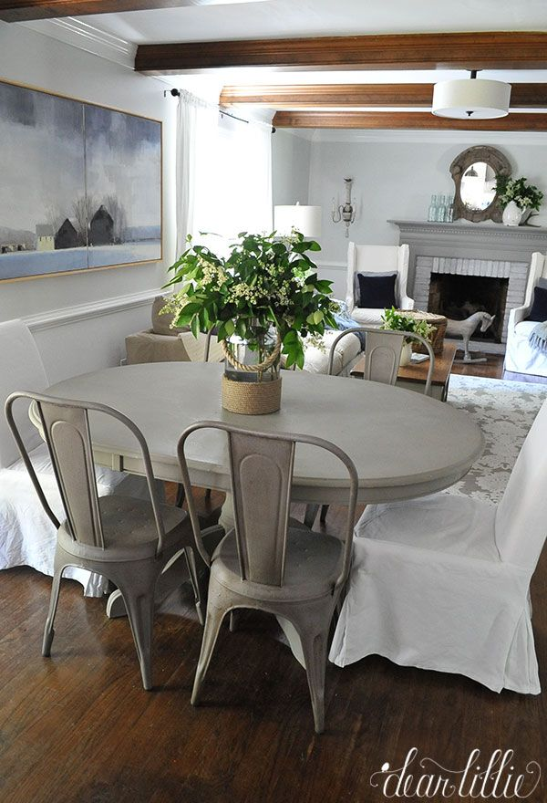 How To Update An Old Dining Room Set Prepossessing Dear Lillie Updated Family Room  Hgtv Fixer Upper Decor & More Review