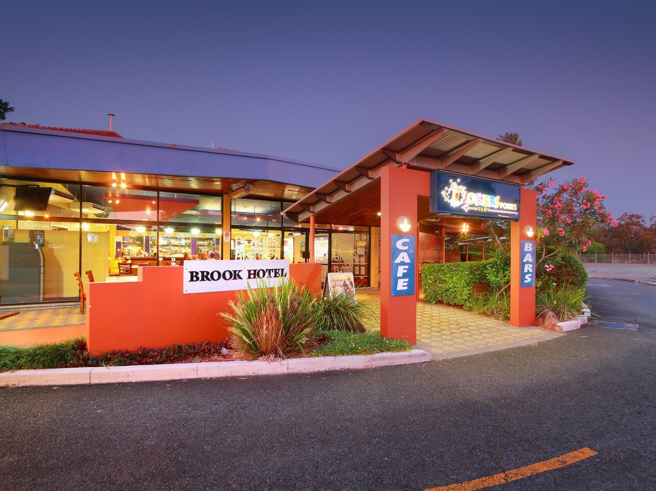 Brisbane brook hotel australia pacific ocean and