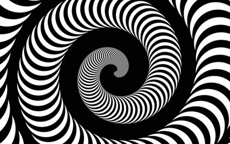 Black And White Spiral Ipad Wallpaper Ipad Background 3d Abstract