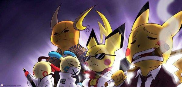 Otaku Meme Anime And Cosplay Memes The Pikachu Yakuza