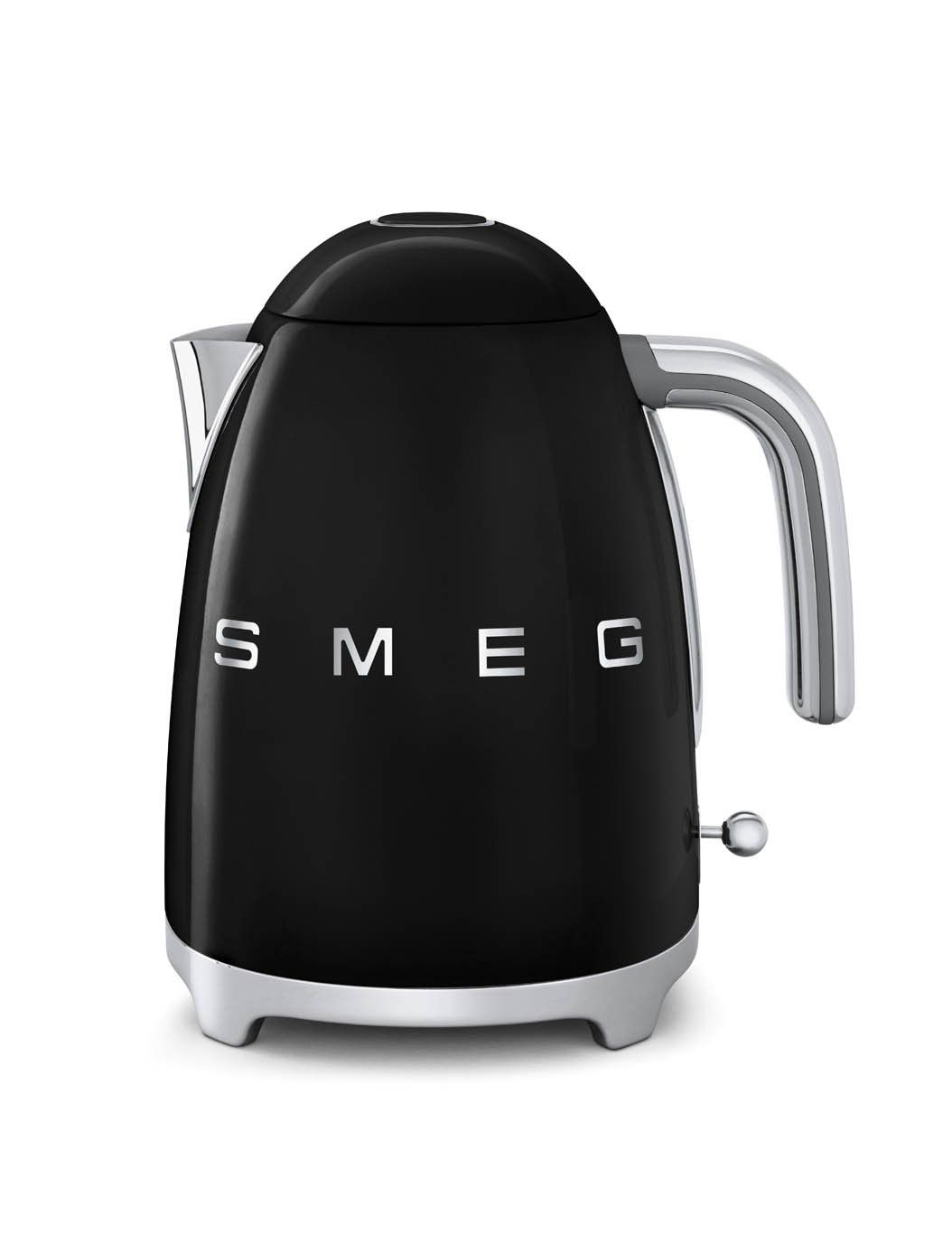 Smeg 50\'s Retro Style Black Kettle | Retro Appliances | Pinterest