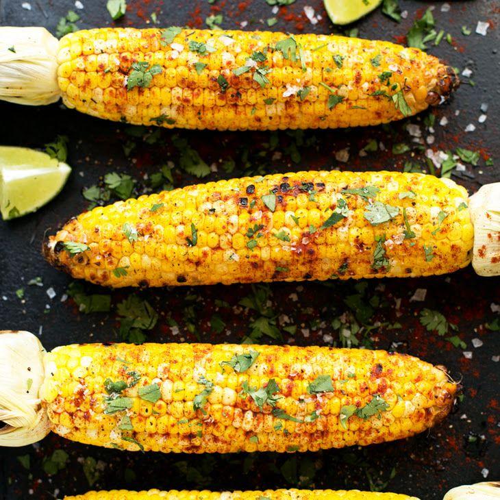 Food 1 2016 5 19 Roast Corn On The Cob With Queso Fresco Paprika >> Grilled Cilantro Lime Paprika Corn On The Cob Recipe Cilantro