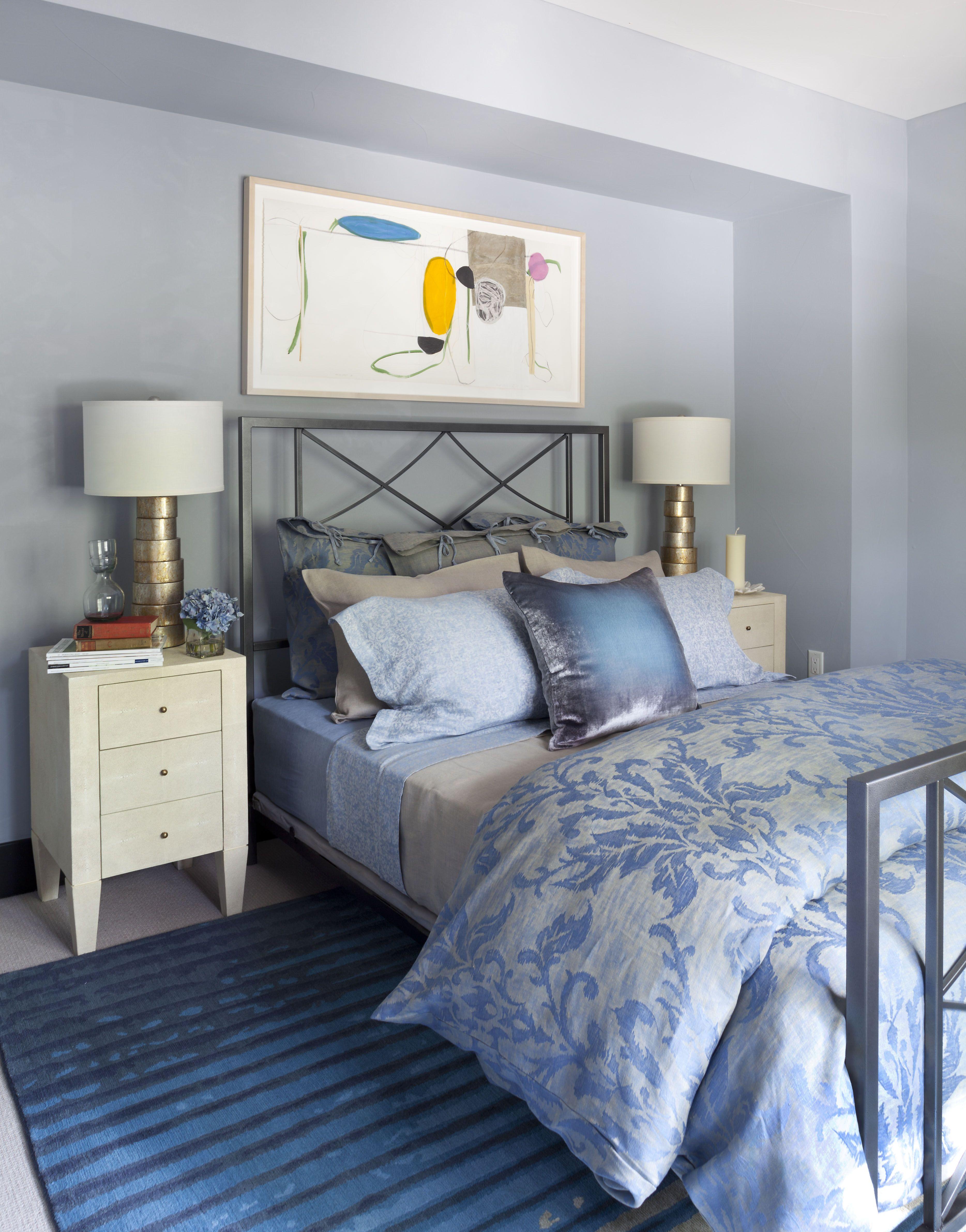2015 Denver Designer Show House. Color bedroom by The