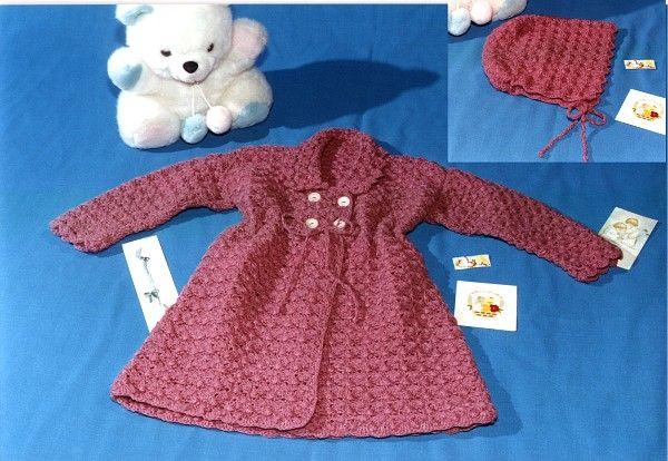 Tapado Con Gorro | crochet | Pinterest | Babys und Häkeln
