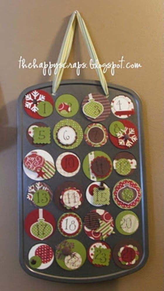 Diy Advent Calendar Muffin Tin : Use a mini muffin tin family ministry advent learning