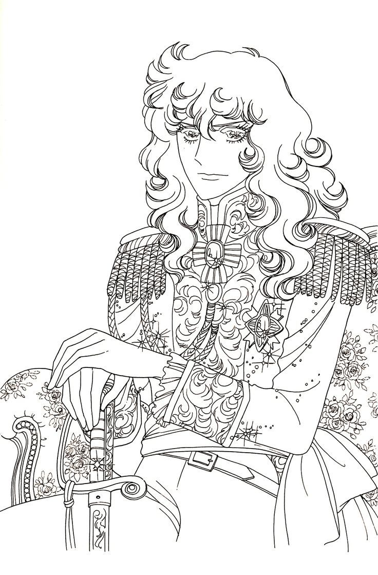 lady oscar | Coloring Pages | Pinterest