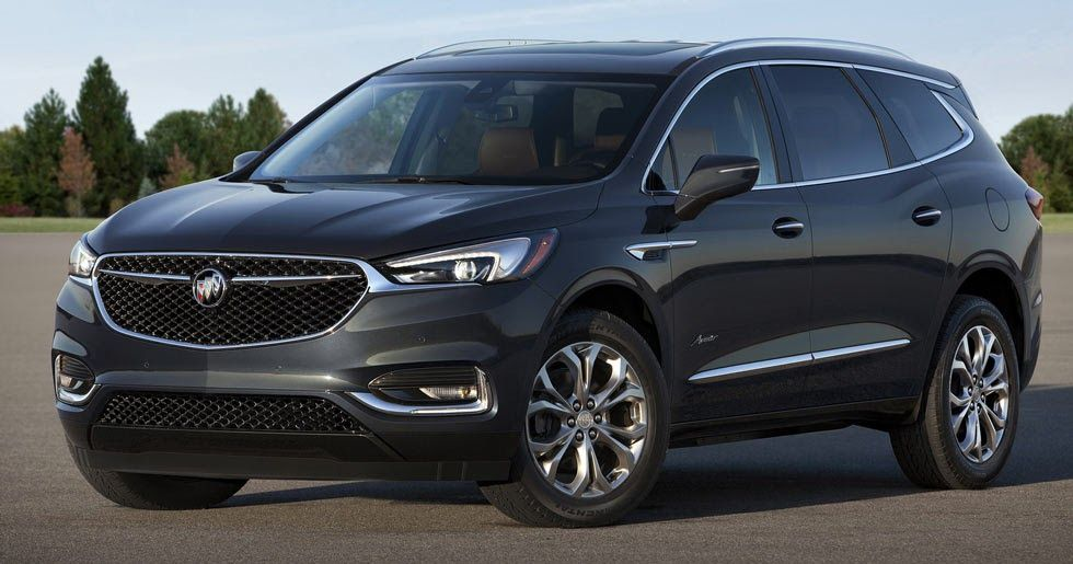 2018 Buick Enclave Is All New And Welcomes Luxurious Avenir Sub Brand Buick Envision Buick Enclave Buick