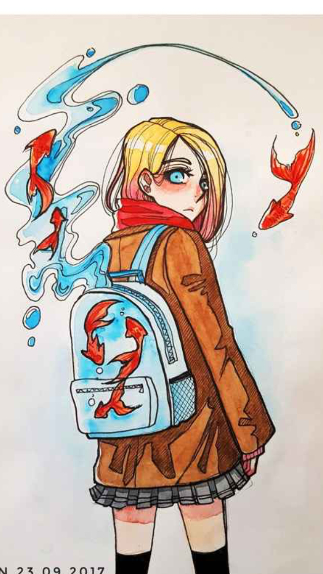 Pin By Fiona Sofia Zoilo On Anime Cool Drawings Hipster Drawings Character Art