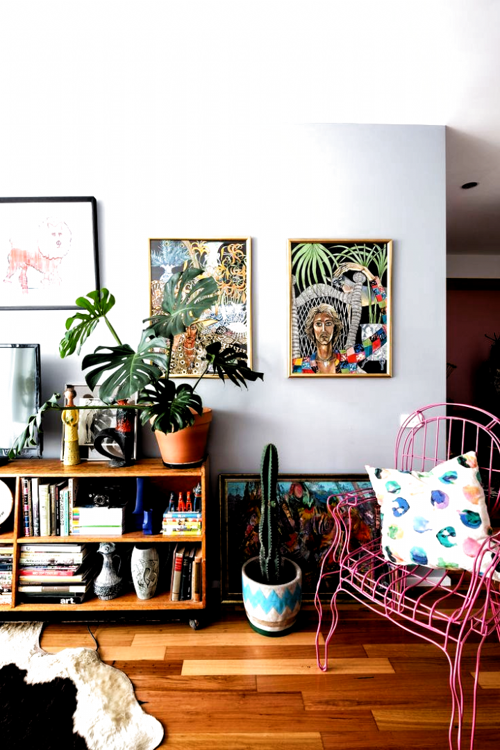 Photo of Australia Home Tour: A Maximalist Colorful Mashup   Apartment Therapy #home deco…
