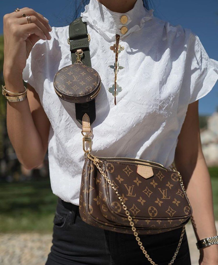 What To Wear Today Lv Multi Pochette Accessories Bag Crossbody Bag Louis Vuitton Bag Louis Vuitton Fake Designer Bags