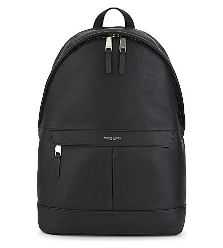 MICHAEL KORS Owen Leather Backpack. #michaelkors #bags #leather ...