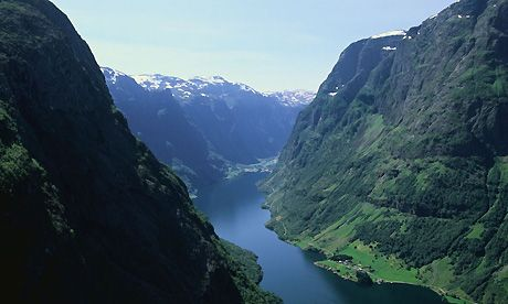 Norway.  Another great place to see fjords.  My ancestors sure knew where to live.
