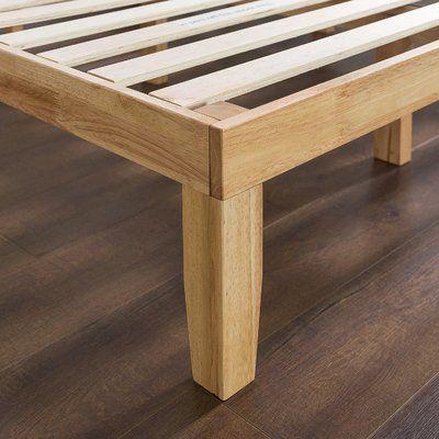 Maxen Bed Frame Solid Wood Platform Bed Platform Bed