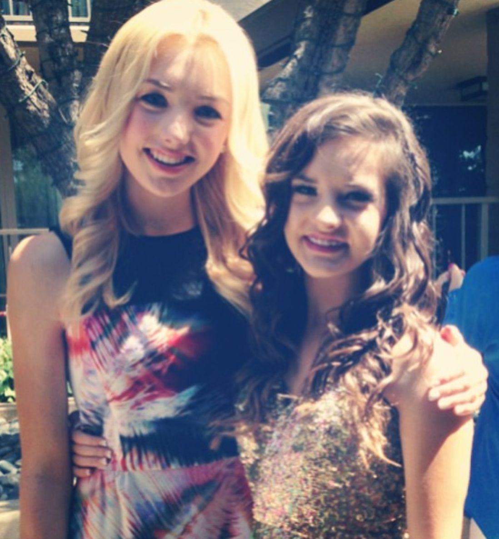 Peyton List and Brooke Hyland @  TCAs 2013