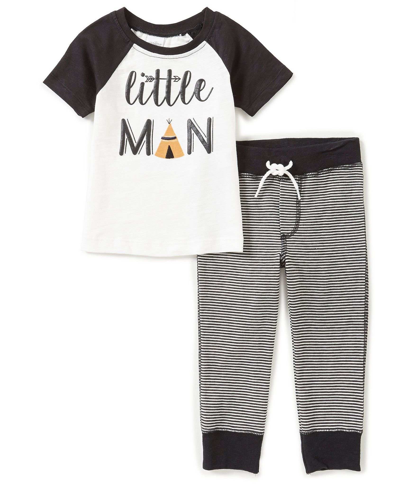 Shop for Starting Out Baby Boys 12 24 Months Little Man Top