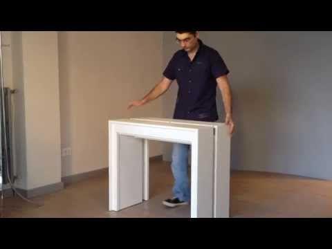 tavolo estraibile da cassetto sospeso YouTube Tavolo